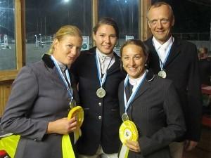 RFV-Taufkirchen Oberbayerische Mannschaftsmeister 2012